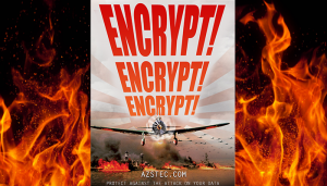 Encryption: Protect against the attack on your data!